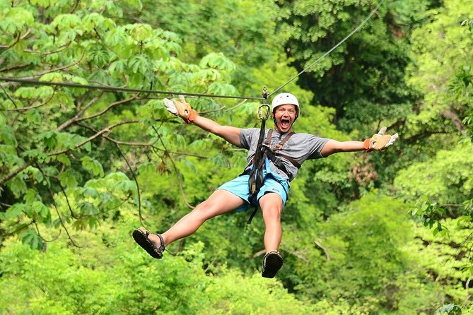 Ocean and Mountain View Zip-line Tour