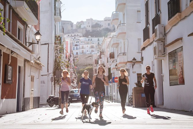 Full Running Tour of Ibiza Town