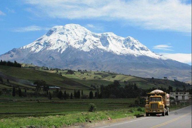 Chimborazo bike and hike