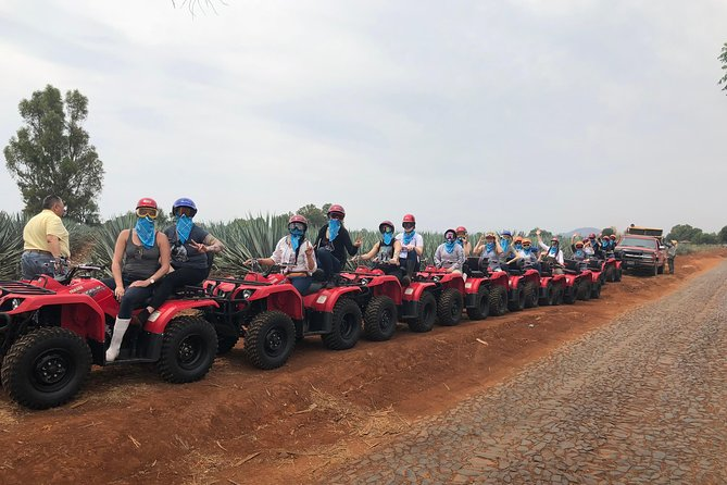 Guided tours in quad bike in the Altos de Jalisco