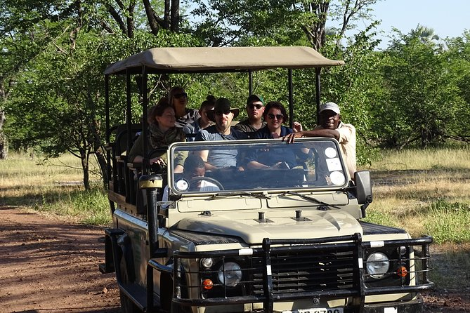 Game Drive & Rhino Safari Experience