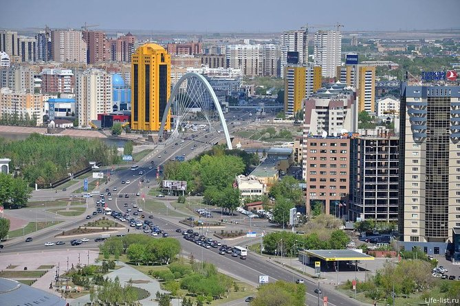 Pedestrian tour: The Right Embankment is a Starting Point of Astana