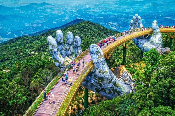 Golden Bridge & Ba Na Hills Full Day Small Group From Danang City
