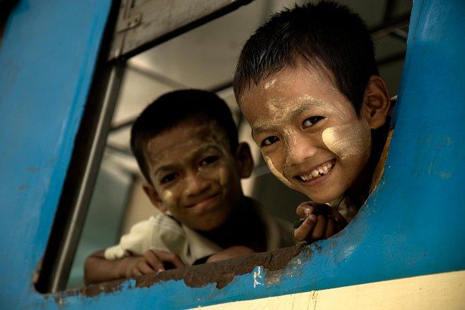 Experience Circular Train Ride in Yangon- Half Day