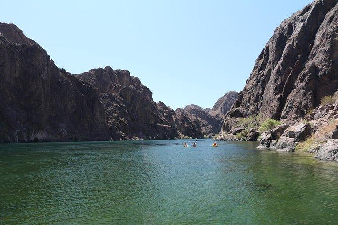 2 Day / 1 Night Kayaking Trip on Black Canyon below Hoover Dam from Las Vegas