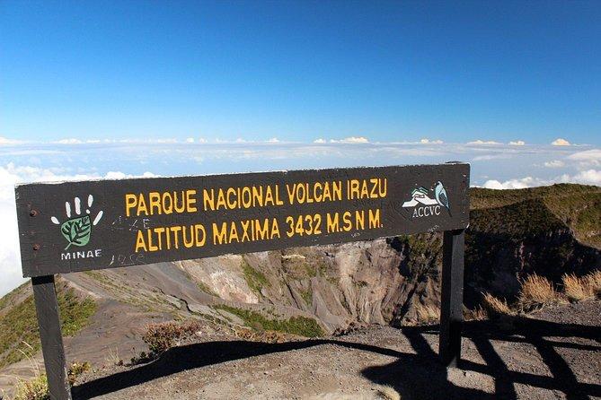 Irazú Volcano National Park (Half Day).