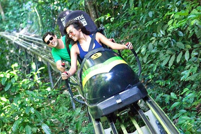Shared Mystic Mountain Jamaica Bobsled Tour from Falmouth