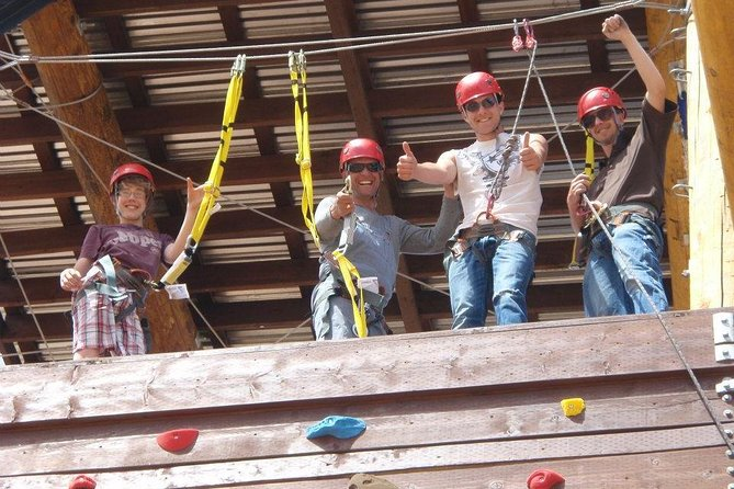 Moab High Ropes Challenge Course 2-Hour Adventure