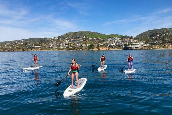 Laguna Beach SUP Lesson and Tour