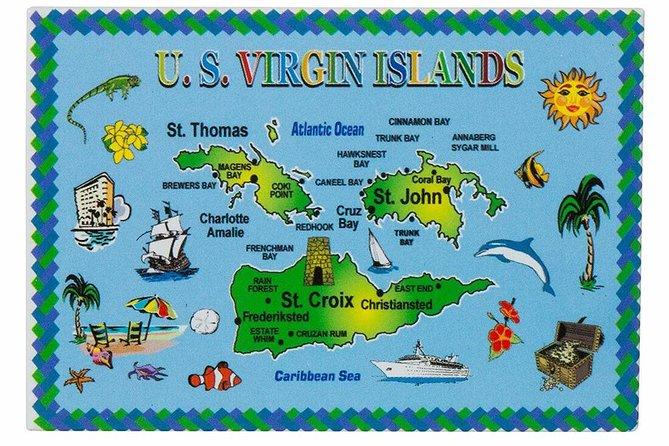 Paradise Taxi & Tours USVI - St. Thomas, Virgin Islands- Island Scenic Tour
