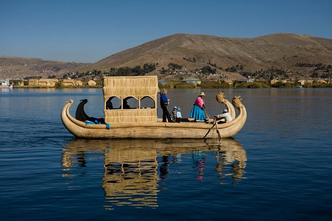 Uros floating islands & Taquile island Titicaca Full Day