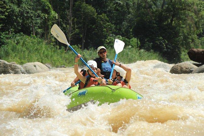 Whitewater Rafting Río Naranjo Class III+