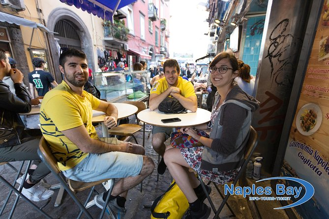 STREETFOOD tour in an old market in the center, and fried pizza
