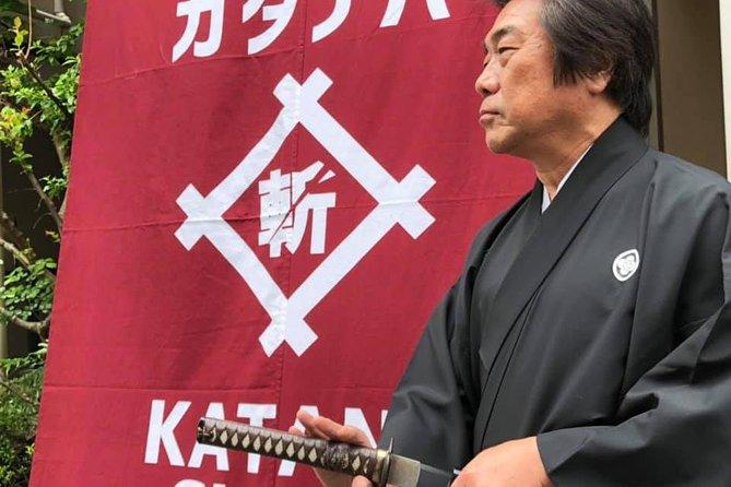 Samurai Sword Experience in Asakusa, Tokyo