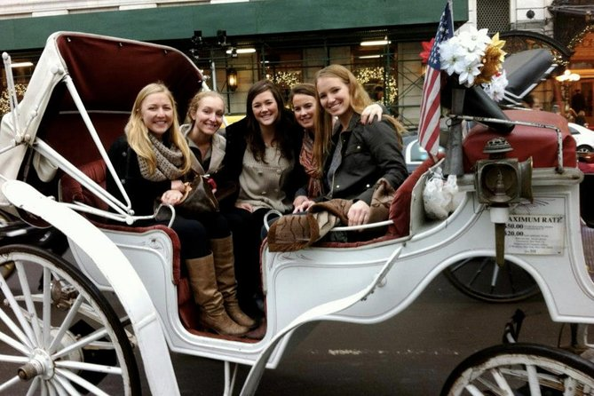 50 Minutes Central Park Horse and Carriage Tour Up to 4 Adults