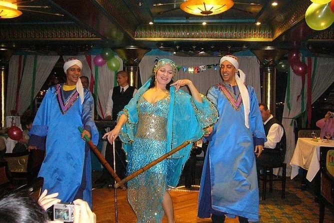 Cairo dinner cruise includes dinner belly dancing show pickup & all transfers