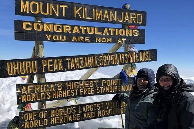 7 Days Mount Kilimanjaro Machame Route Climb