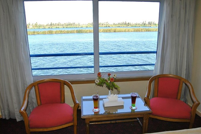 4-Days Nile Cruise Aswan to Luxor & Sleeper Train rounded trip from Cairo