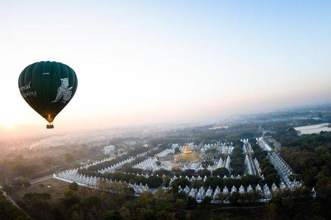 Mandalay hot-air balloon experience, operating from November 16, 2020 to February 28, 2021