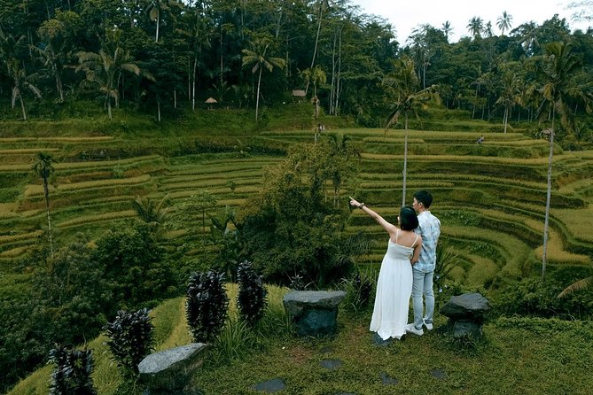 Central Bali Higlights Tour: Volcano, Rice Terrace, Swing & Natural Hot Spring