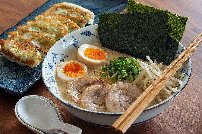 Cook Homestyle Ramen and Gyoza from scratch