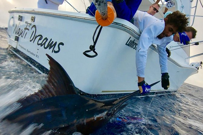 Fishing Trips in Barbados onboard Nauti Dreams Luxury Charters