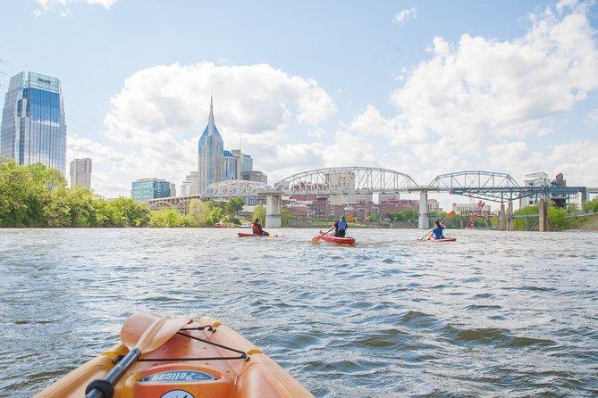 Kayak Rental in Downtown Nashville 4+ People