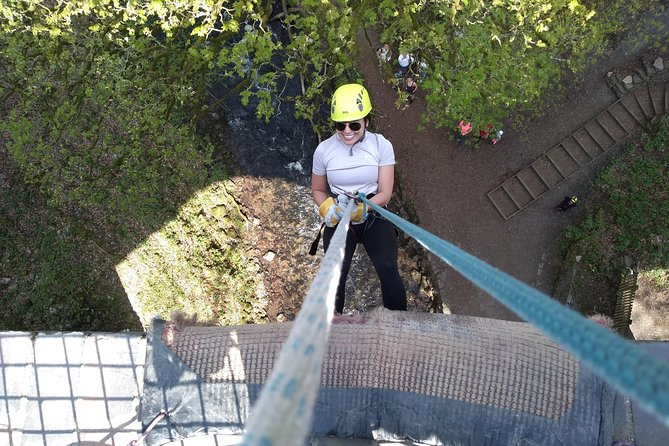 ABSEIL EXPERIENCE off Millers Dale Bridge THE BEST in Derbyshire & Peak District