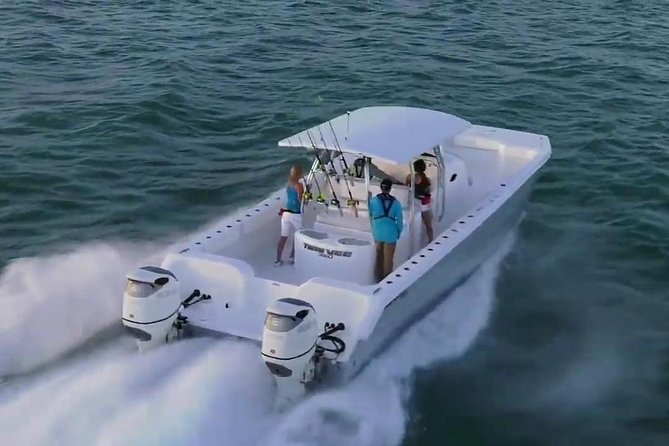 Private Fast Power Catamaran. Full or Half Day for Beach Hopping, Snorkel & Swim