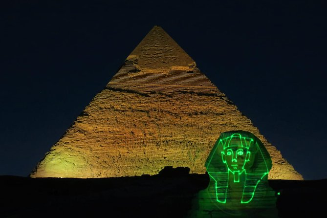 Pyramids Sound and Light Show with Private transfer