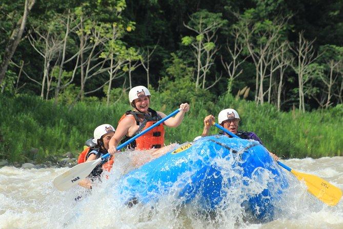 Whitewater Rafting Savegre River Class II & III + Waterfall Break