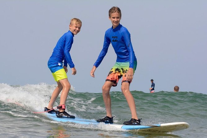 Group Surf Lesson at Waves Hawaii Surf School The Billabong Surf School in Kihei
