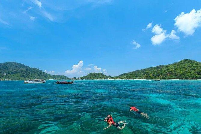 Maya Bay, Monkey Bay, Bamboo and Phi Phi Island Snorkeling Tour from Koh Lanta