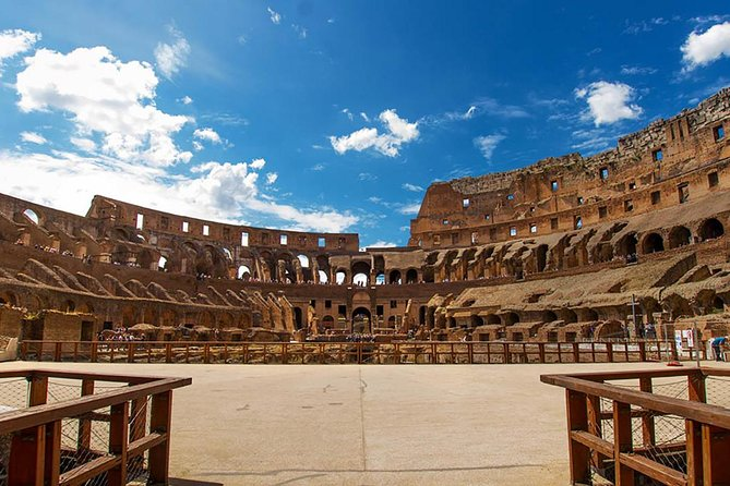 Colosseum Arena Floor, Roman Forum & Palatine Hill Guided Group Tour