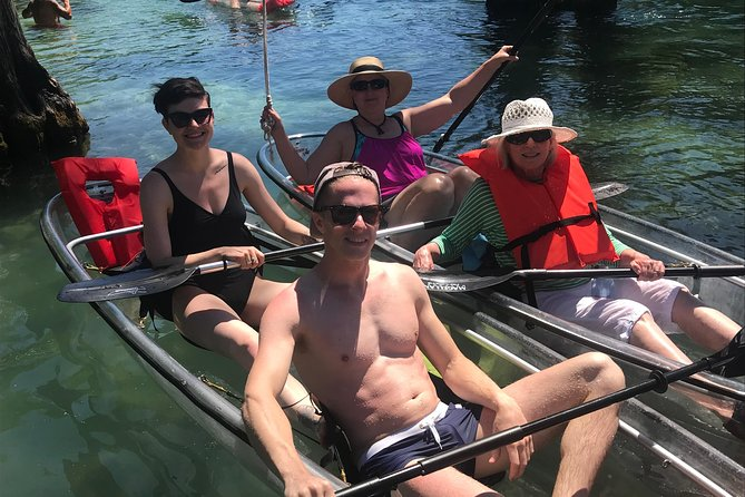 2-Hour Glass Bottom Guided Kayak Eco Tour in Rainbow Springs (Small-Group)