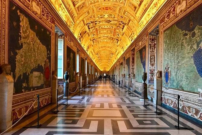 (Semi-Private Tour) Vatican Museums and Sistine Chapel Guided Guided Tour