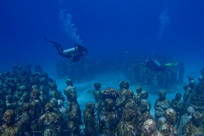 UNDERWATER MUSEUM CANCUN Diving for Beginners 1 Dive - Experience with Ticket