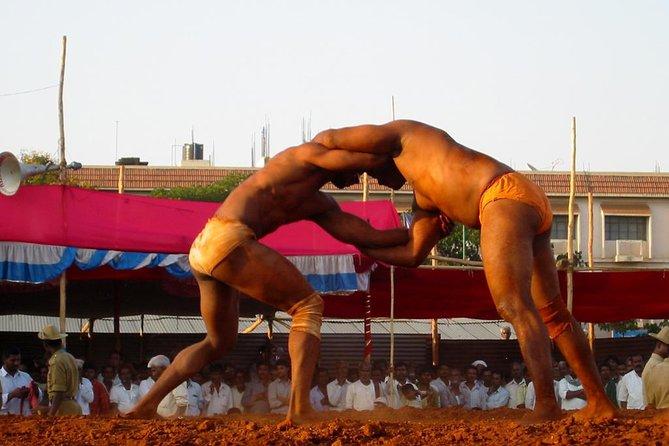 Delhi Wrestling Tour At Private Akhada