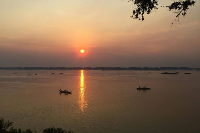 Sunset on Tonle Sap Lake