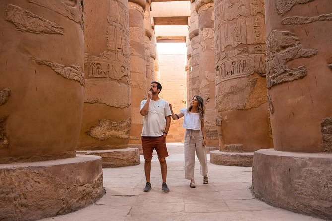 Cairo: Luxor East and West Banks Guided Tour& Overnight Sitting Train Round Trip