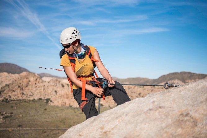 Rappelling Adventure in Joshua Tree National Park (6 Hours)