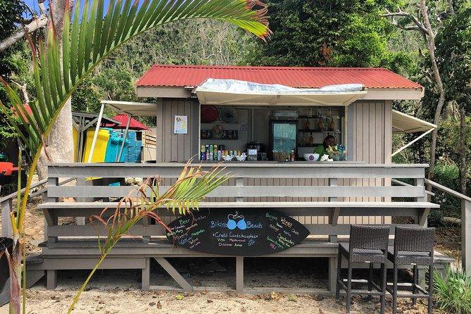 Honeymoon Beach, St. John Safari Shuttle from Caneel Bay Resort Entrance