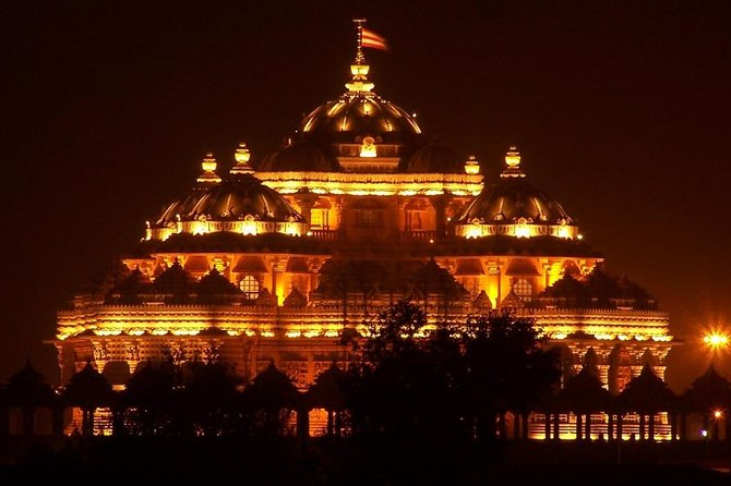 Evening Private Tour of Akshardham Temple