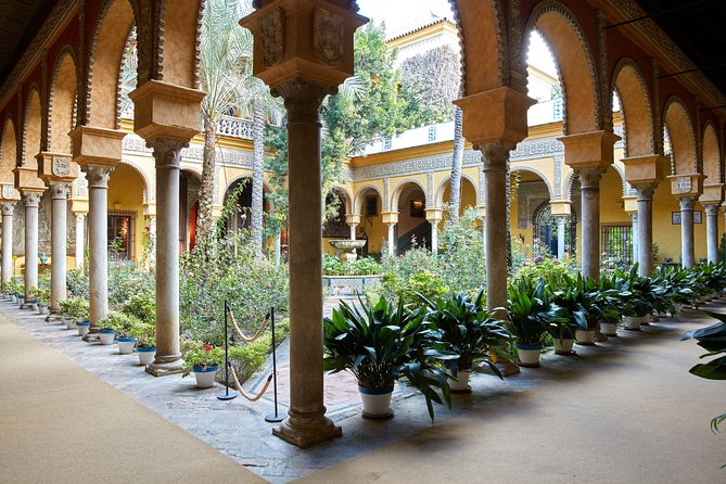 Ticket + Audioguide to the Palace of Las Dueñas