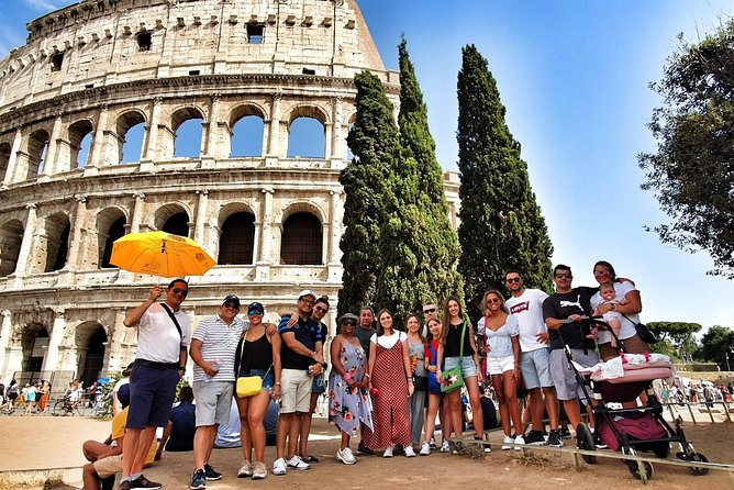 Palatine Tour, Roman Forums and Colosseum