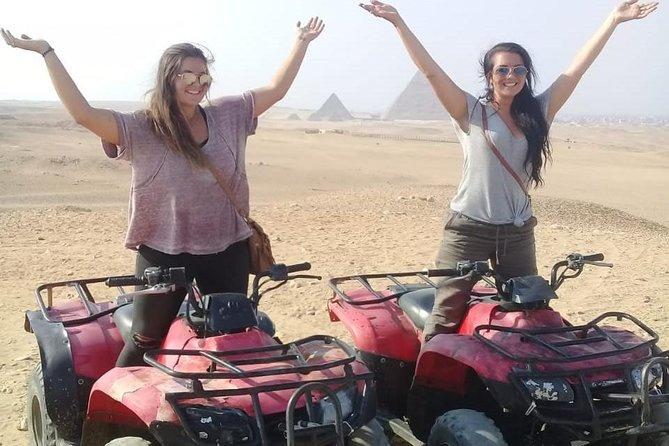 Desert Safari By ATV Quad Bike around Giza Pyramids
