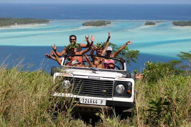 4x4 Jeep Safari Tour in Bora Bora