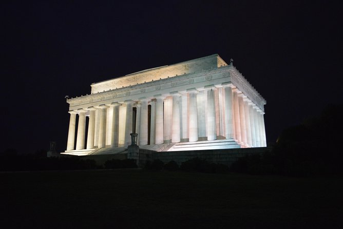 Washington DC National Mall Night Tour - Stops at 10 Iconic Attractions!