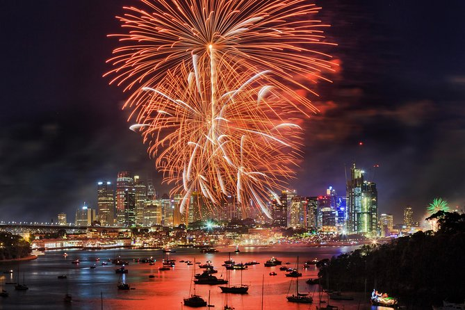Tripadvisor New Year S Eve Dinner Cruise On Sydney Harbour With Fireworks And Dj Provided By Oz Whale Watching New South Wales