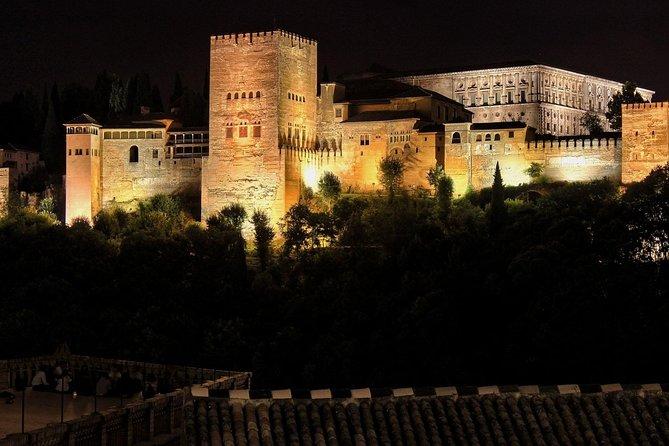 Visit Alhambra at night (10 people)